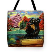 Autumn Music Tote Bag