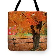 Autumn Near New Germany, Nova Scotia Tote Bag