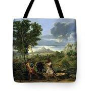 Autumn Nicolas Poussin Tote Bag