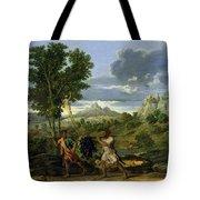 Autumn Tote Bag by Nicolas Poussin
