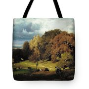 Autumn Oaks , George Inness Tote Bag