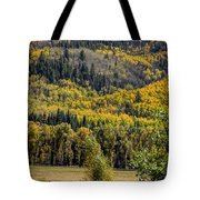 Autumn On A Colorado Range Tote Bag