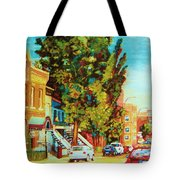 Autumn On Bagg Street Tote Bag