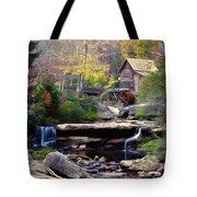 Autumn On Glade Creek Tote Bag