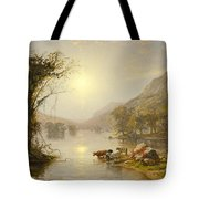 Autumn On Greenwood Lake Tote Bag