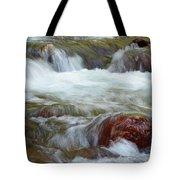 Autumn On Jackson Creek Tote Bag