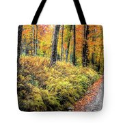 Autumn On Long Pond Road Tote Bag