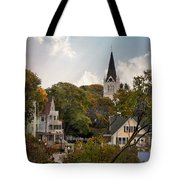 Autumn On Mackinac Island Tote Bag