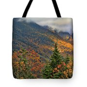 Autumn On Mount Mansfield Vermont Tote Bag