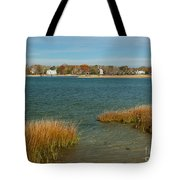 Autumn On The Bass River I Tote Bag