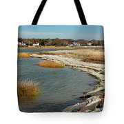 Autumn On The Bass River II Tote Bag