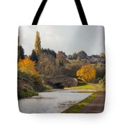 Autumn On The Canal Tote Bag