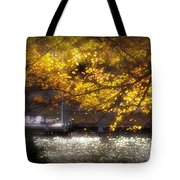 Autumn On The Cove Tote Bag