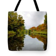 Autumn On The Erie Canal Tote Bag