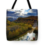 Autumn On The Genesee Tote Bag