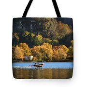Autumn On The Lake Tote Bag
