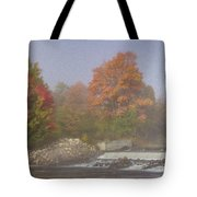 Autumn On The Moose Tote Bag