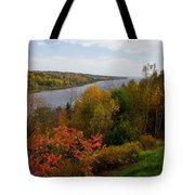 Autumn On The Penobscot Tote Bag