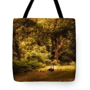 Autumn Outing Tote Bag