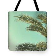 Autumn Palms II Tote Bag