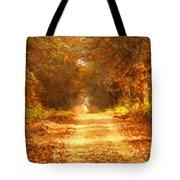 Autumn Paradisium Tote Bag
