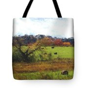 Autumn Pasture Tote Bag