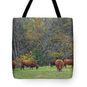 Autumn Pasture Tote Bag