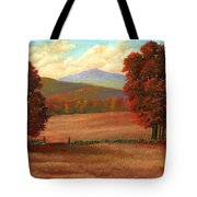 Autumn Pastures Tote Bag