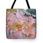 Autumn Pink Tote Bag