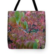 Autumn Pink Poster Tote Bag