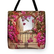 autumn plants and garden in Portugal Algarve Tote Bag by Ariadna De Raadt