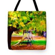 Autumn Playground 1 Tote Bag