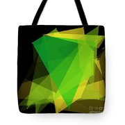 Autumn Polygon Pattern Tote Bag