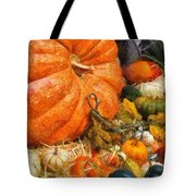 Autumn - Pumpkin - All Of My Relatives Tote Bag