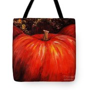 Autumn Pumpkins Tote Bag