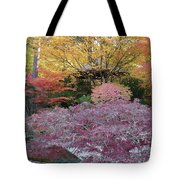 Autumn Purple Tote Bag