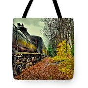 Autumn Railway Tote Bag