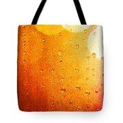 Autumn Raindrops Tote Bag