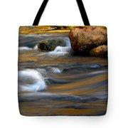 Autumn Rapids Tote Bag
