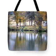 Autumn Reflection 16 Tote Bag