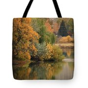 Autumn Reflection 41 Tote Bag
