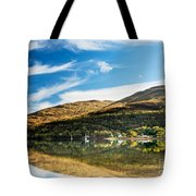 Autumn Reflection, Loch Long Tote Bag