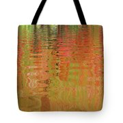 Autumn Reflections Abstract Tote Bag