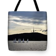 Autumn Regatta Tote Bag