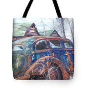 Autumn Retreat - Old Friend Vi Tote Bag
