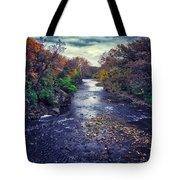 Autumn Riders On The Storm Tote Bag