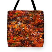 Autumn Riot Tote Bag