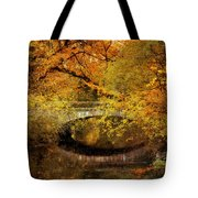 Autumn River Views Tote Bag