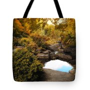 Autumn Rock Garden Tote Bag