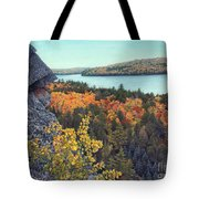 Autumn Rocks Booth's Rock Lookout Tote Bag